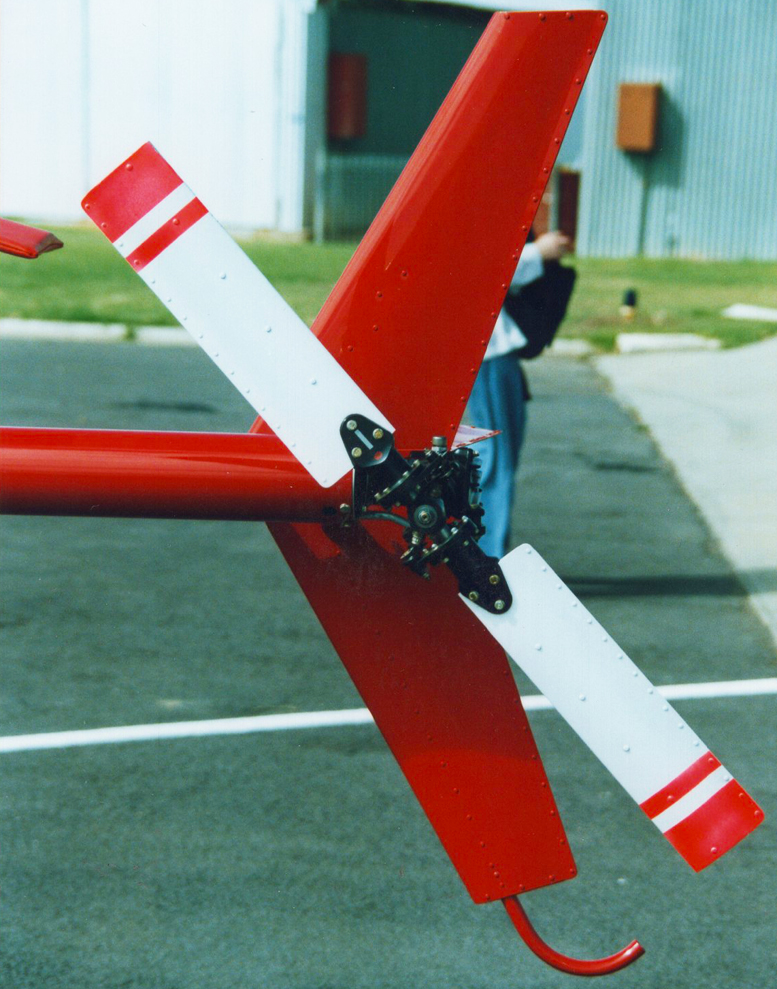 kit helicopter tail rotor