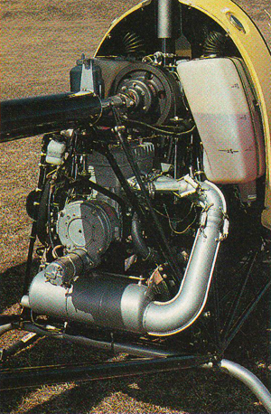 rotax 582 helicopter engine