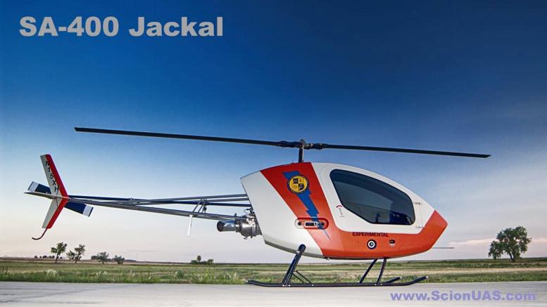 SA-400 Jackal helicycle helicopter