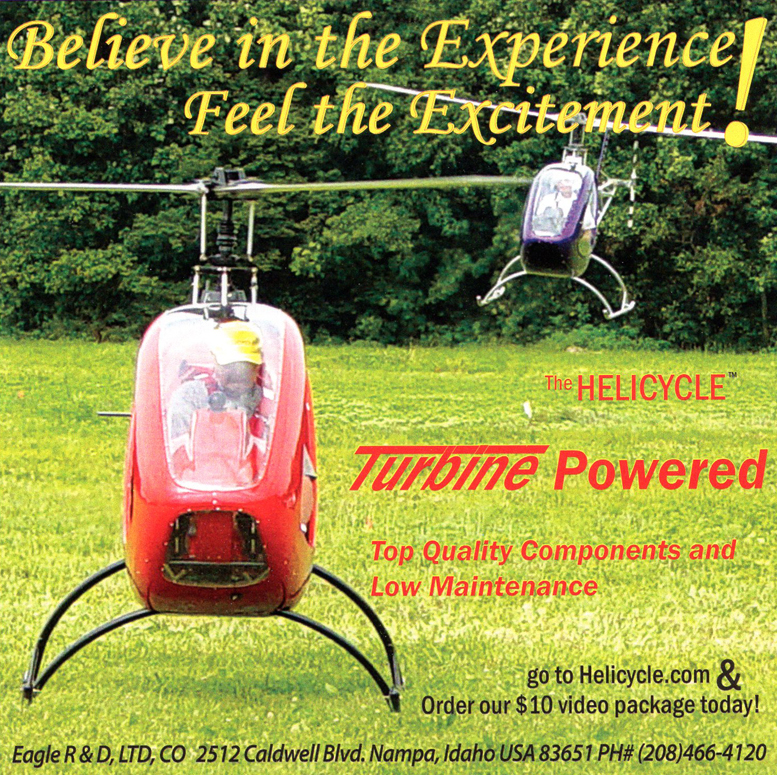 helicycle turbine helicopter kit