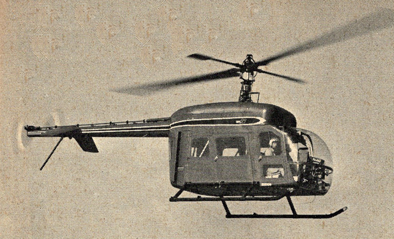 hiller Ten99 helicopter