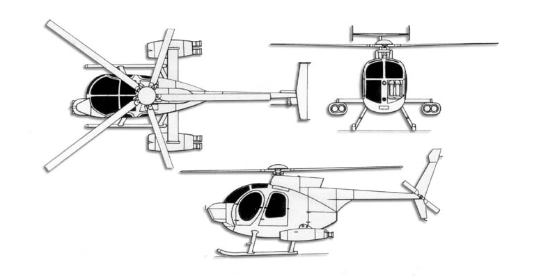 hughes md500 helicopter