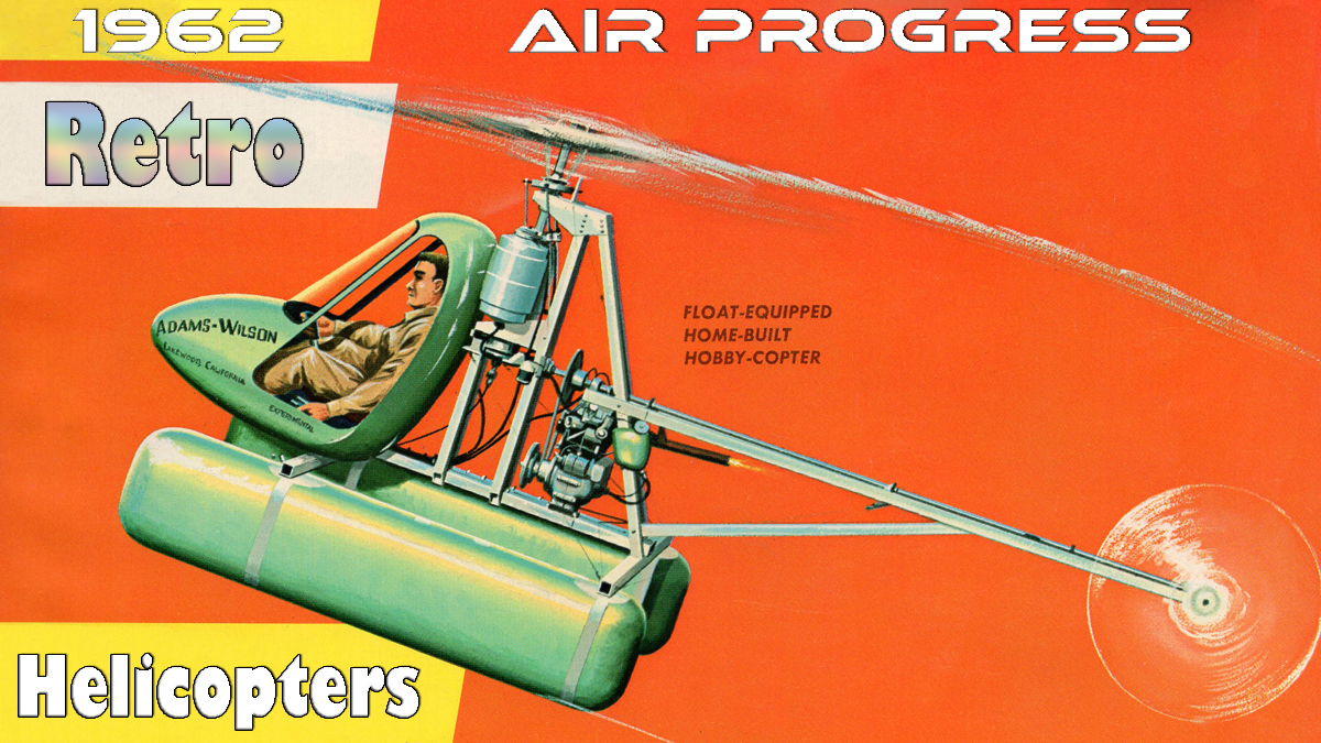 Air Progress 1962 Helicopters