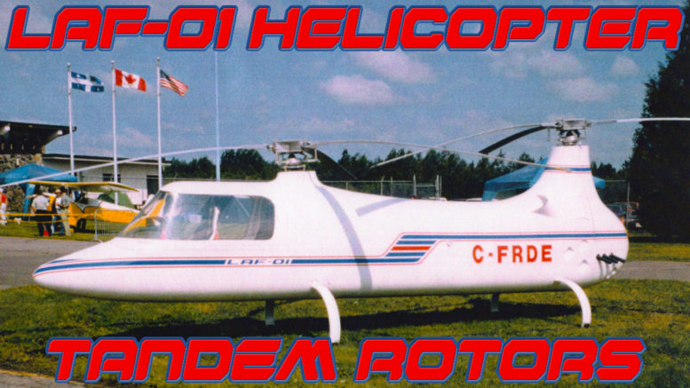 LAF-01 tandem rotor helicopter