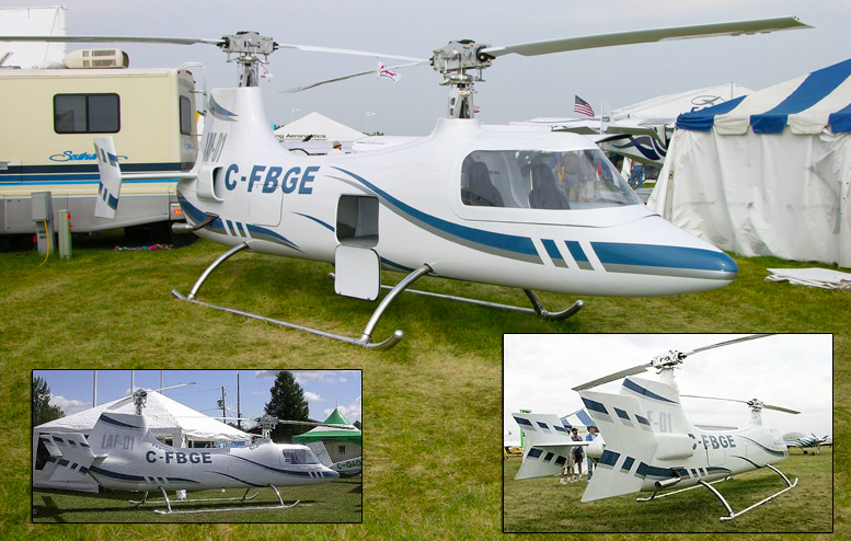 Laflamme Helicopters LAF-01 C-FBGE