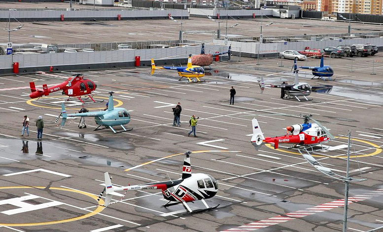 commercial helicopters russia