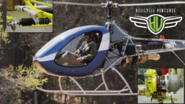 cross country in helicycle helicopter