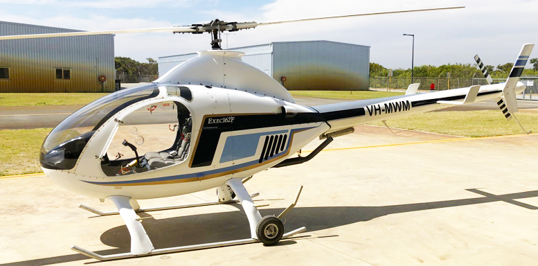 helicopter Rotorway Exec-162F