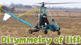 helicopter rotor lift dissymmetry
