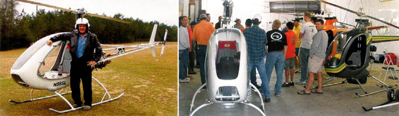 helicycle cross country flying helicopter