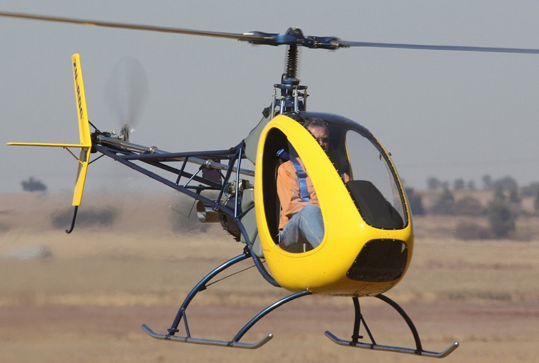helicycle helicopter hover SouthAfrica