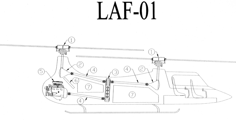 laf helicopter layout
