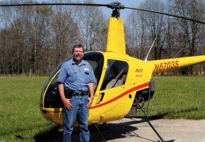 orv neisingh r22 helicopter