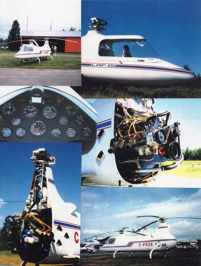 tandem rotor helicopter kit