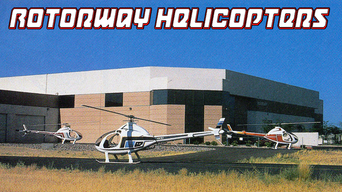 Rotorway Exec Kit Helicopter 1987