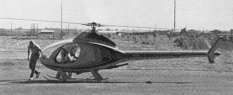 rotorway pre flight helicopter
