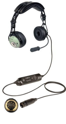 Fixed wing aircraft pilot headset DC PRO XA for sale