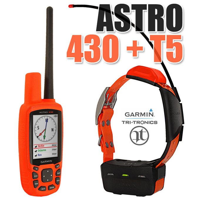 Garmin Astro 430 with T5 dog GPS system review
