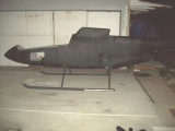 <h5>SkyShark Helicopter Airframe</h5><p>SkyShark helicopter airframe side view</p>