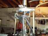 <h5>SkyShark Helicopter Rotor Mast Assembly</h5><p>SkyShark helicopter's upper main rotor mast assembly</p>
