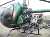 <h5>Aerokopter helicopter engine mount</h5>