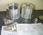 <h5>Aerokopter helicopter reduction pulleys</h5>