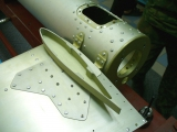 <h5>Aerokopter helicopter tail fin assembly</h5>