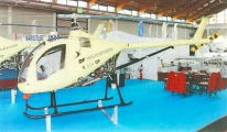 <h5>Dragonfly helicopter display</h5>