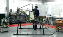 <h5>Dragonfly helicopter airframe</h5>