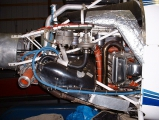 <h5>Standard Rotorway Exec engine bay</h5>