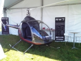 <h5>RW7 Rotorway helicopter Lycoming engine</h5>