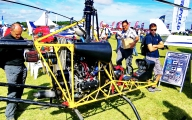 <h5>Homebuilt helicopter airshow display</h5>