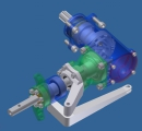 <h5>Helicopter tail rotor gearbox</h5>