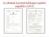 <h5>Hungaro helicopter certification</h5>