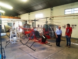 <h5>Early Cicare homebuilt helicopters</h5>