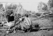 <h5>Augusto Cicare homebuilt helicopter</h5>