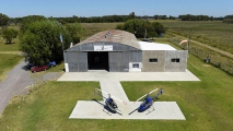 <h5>Cicare helicopter hanger</h5>