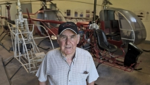<h5>Augusto Cicare kit helicopter pioneer</h5>