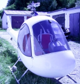 <h5>KR 1 NOTAR helicopter no rotorblades fitted</h5>