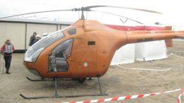 Bio-diesel experimental helicopter