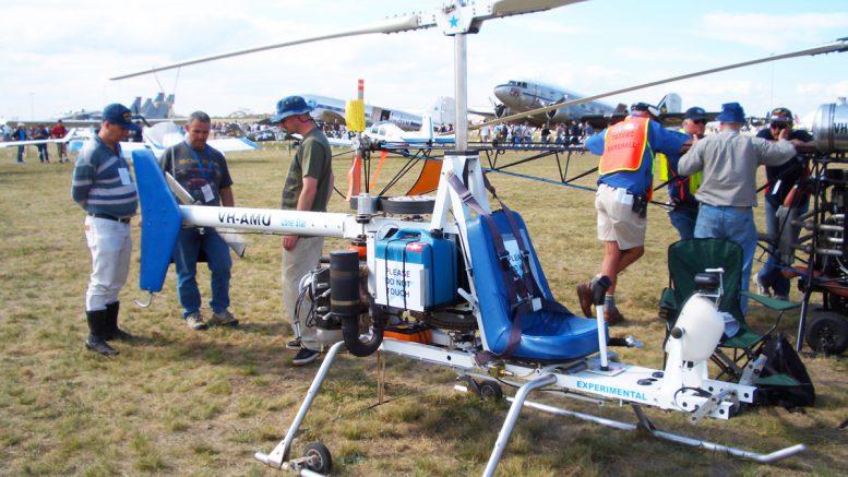 Buzzard helicopter design