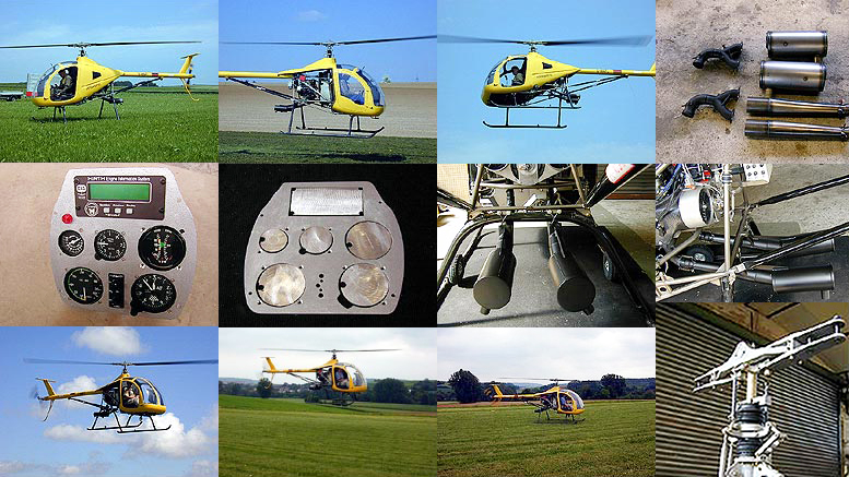 Dragonfly DF Kit Helicopters