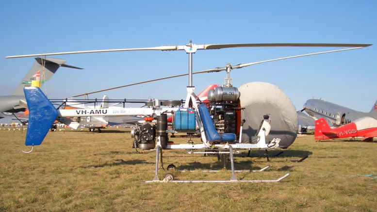 LoneStar helicopter personal helicopter design
