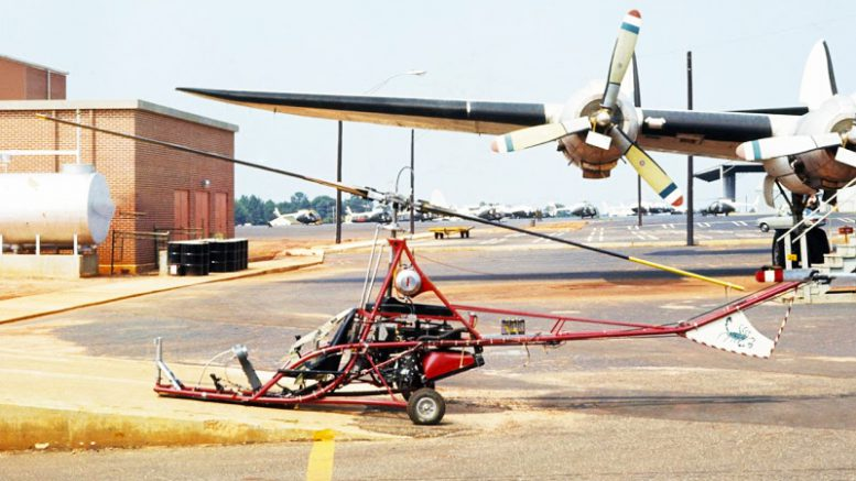 Original Rotorway Scorpion 1 Helicopter