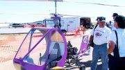 Sky Trekker helicopter cabin