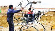 Alto Jaimem Hugo Cancari experimental helicopter