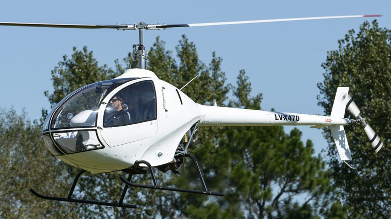 Augusto Cicare CH-12 Two Seat Helicopter