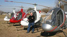 Augusto Cicare CH helicopters