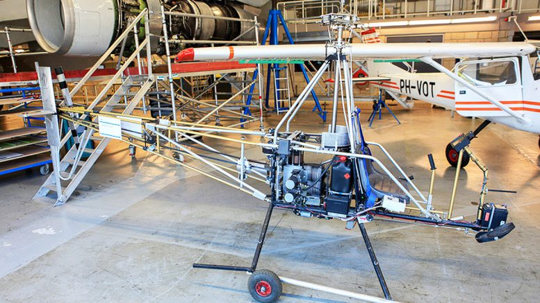 Building an AW95 aluminum helicopter