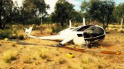 Helicopter pilot plan to crash